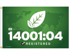ISO 14001:2004 Environmental Flag