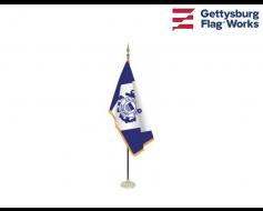 Coast Guard Auxiliary Indoor Flag Set
