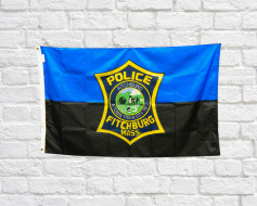 Custom Police Department Flag Portfolio