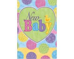 New Baby Garden Flag