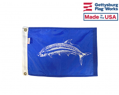 "Tarpon Flag - 12x18"""