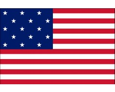 American, 15 Stars & Stripes Flag, Star Spangled Banner
