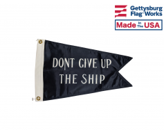 Commodore Perry Burgee Boat Flag