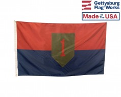 Army 1st Infantry Division Flag - Choose Options