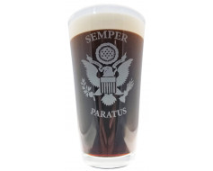 Coast Guard Pint Glass