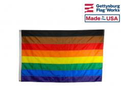 Philadelphia Rainbow Pride POC Flag