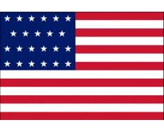 American, 23 Star Flag