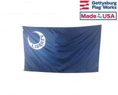 3x5' Fort Moultrie Historic Liberty Moon Flag