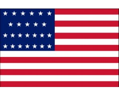 American, 25 Star Flag