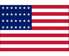 American, 28 Star Flag