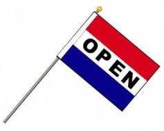 OPEN Flag Set, Horizontal