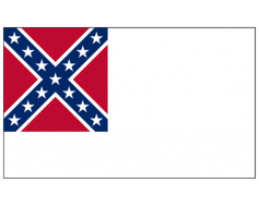 Confederate, 2nd National Flag - 3x5'