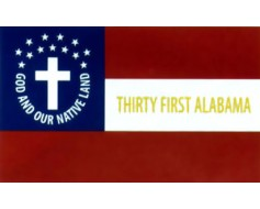 31st Alabama Infantry Flag - 3x5'