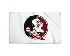 FSU Seminoles Outdoor Flag - White