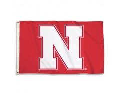 Nebraska Cornhuskers Outdoor Flag - Red