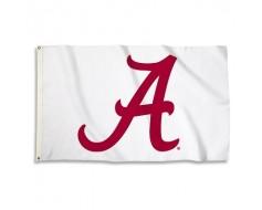 Alabama Crimson Tide Outdoor Flag - White
