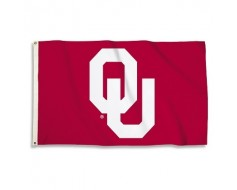 Oklahoma Sooners Outdoor Flag - Red