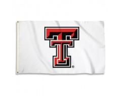 Texas Tech Red Raiders Flag - White