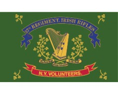 37th N.Y. Irish Brigade Regiment Flag - 3x5'