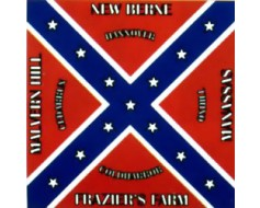 37th North Carolina Flag - 4x4'