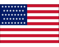 American, 38 Star Flag