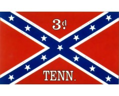 3rd Tennessee Flag - 3x5'