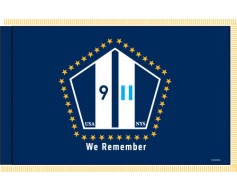 9/11 We Remember Indoor Flag