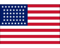 American, 44 Star Flag