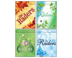 Seasons Family Garden Flag Set