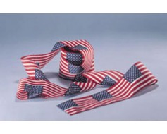 American Flag Roll Bunting
