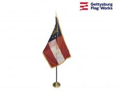 Georgia Indoor Flag Set-3x5