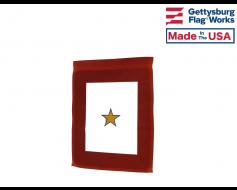 Service Star - Gold Star Garden Flag