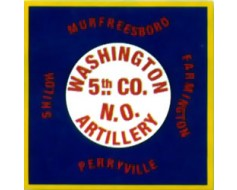 5th Company Washington Artillery LA Flag - 3x3'