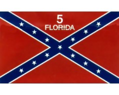 5th Florida Infantry Regiment Flag - 3x5'