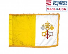 Vatican City Flag – Indoor