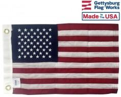 "Premium Sewn American Boat Flag - 12x18"""