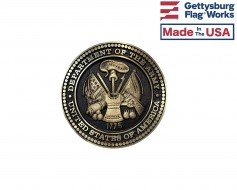 Army Seal Oversized Memorial Medallion