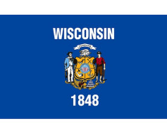 Wisconsin Flag - Outdoor