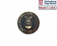 Air Force Seal Oversized Memorial Medallion