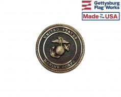 Marine Corps Seal Oversized Memorial Medallion