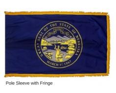 Nebraska Flag - Indoor