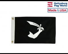 """Thomas Tew Pirate Flag - 12x18"""""""