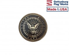 Navy Seal Oversized Memorial Medallion