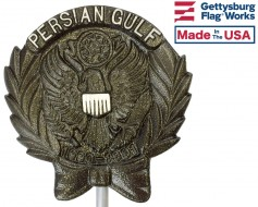 Persian Gulf Aluminum Grave Marker