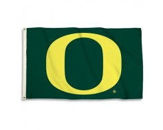 Oregon Ducks Outdoor Flag - Green