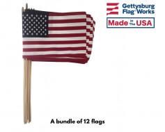 1 dozen stick flag bundle