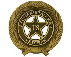 Afghanistan Veteran Bronze Grave Marker