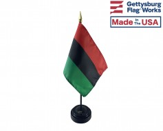 Afro-American Stick Flag