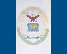 Air Force Retired Flag - 3x4'