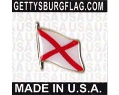 Alabama State Flag Lapel Pin